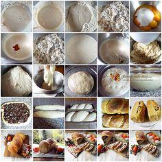 cozonac cu maia preparare Eggs, Breakfast, Food, Morning Coffee, Essen, Egg, Meals, Yemek, Egg As Food