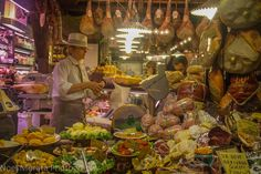 Bologna highlights: outdoor markets and street food of Bologna - a peek into one of the many specialty shops in the Quadrilatero market area