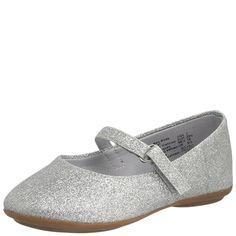 $12.99 Payless - Girls SmartfitGirls' Toddler Glitter Ballet Flat
