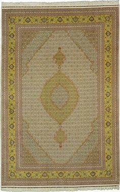 6' 6 x 9' 11 Tabriz Rug  on  Daily Rug Deals