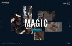 Catalogue interactif pour le jeaner Bonobo permettant de trouver un style vestimentaire associé à une humeur ou un état d'esprit.