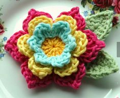 AnnieDesign - crochet flower