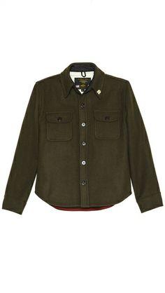 Fidelity by Gerald & Stewart Solid Melton CPO Jacket