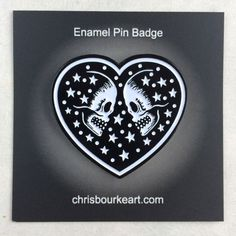 Enamel Pin Badge 'We Are Made of Stars' by ChrisBourkeArt on Etsy