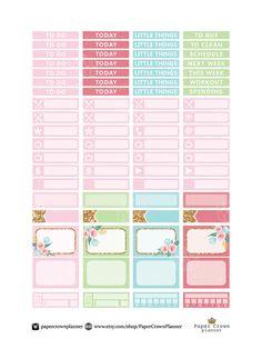 50% OFF SALE / TEA Time Weekly Kit/Printable от PaperCrownPlanner