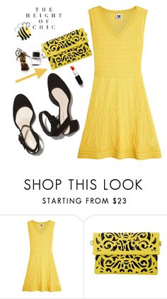 """""""That Yellow Dress"""" by adduncan ❤ liked on Polyvore featuring M Missoni, yellow and lalaland"""