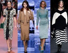 Самые модные юбки-новинки 2017-2018: фото, фасоны, красивые юбки тренды