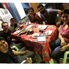 6 - reunião com amigos