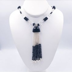 Check out this item in my Etsy shop https://www.etsy.com/listing/506560539/art-deco-sautoir-tassel-necklace-flapper