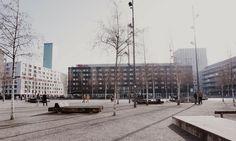 Zurich West, una passeggiata per l'ex quartiere industriale.