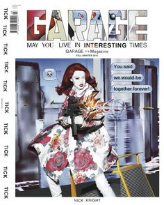 Image of GARAGE Magazine No.3 Fall/Winter 2012 - Nick Knight Cover