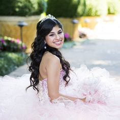 Quince Hairstyles 20 wedding hairstyles with tiara ideas 20 Absolutely Stunning Quinceanera Hairstyles With Crown