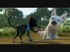Bolt and mittens vs the styrafoam - best scene ever!