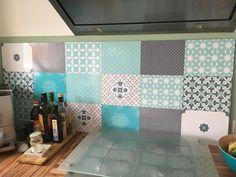 Küchenrückwand/Fettspritzschutz selbstgemacht