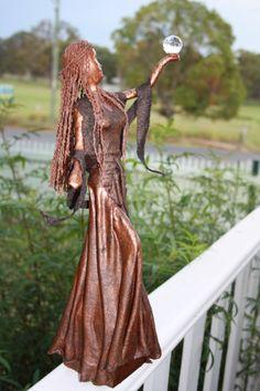 Paverpl Bronze Lady - By Katrina Searle