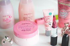 Produtos de beleza com embalagens cor de rosa <3 | Melina Souza