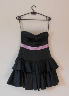 Kup mój przedmiot na #vintedpl http://www.vinted.pl/damska-odziez/krotkie-sukienki/16848965-asos-czarna-sukienka-sexy-mini-36