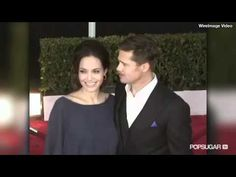 Angelina Jolie and Brad Pitt's Most Flirtatious Moments! - YouTube