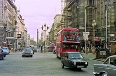 Near Piccadilly Circus Central London England in 1975