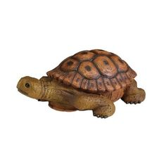 Sculptural Gardens by Heritage Farms Turtle Statuary by Sculptural Gardens by Heritage Farms. $4.23. Great addition to any yard or patio. Filled for both added weight and stability. Durable all weather material resists breakage.. Realistic looking eye parts. Beautifully crafted outdoor Turtle sculpture. Hand decorated.. Save 76%!