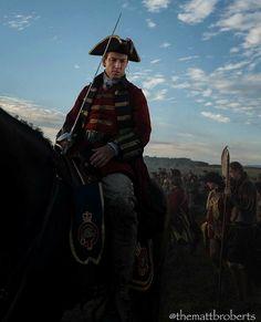 Photo by Writer /Executive Producer Matthew B Roberts of Outlander_Starz of Tobias Menzies as Black Jack Randall - Outlander_Starz Season 3 Voyager - September 14th, 2017