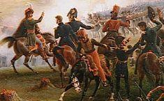 Bataille de la Moskowa, le 7 septembre 1812, seconde attaque de la grande Redoute. (detail)