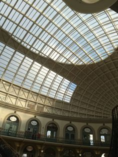 Inside Corn exchange Leeds