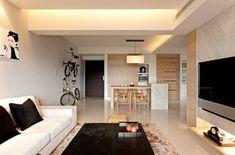 Moderne minimalistische deko ideen stilvolle ausstattung sala