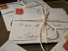 French Letters from Paris