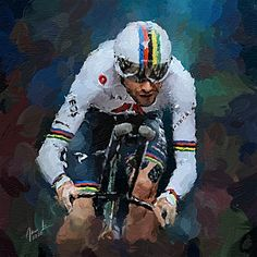Cycling Art, Road Racing, Detailed Image, Digital Art, Bicycle, Deviantart, Sport, Portrait, Artist