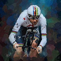 Cycling Art, Road Racing, Detailed Image, Digital Art, Bicycle, Sky, Deviantart, Sport, Portrait