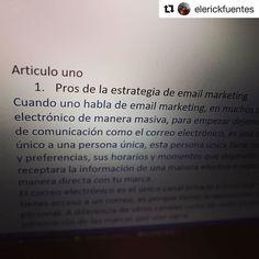 #Repost @elerickfuentes (@get_repost)  Y mientras esperamos escribamos un #articulo para @marcelp1974 y @ecuapromo sobre #emailmarketing y #estrategia