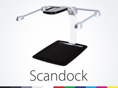 Scandock : The Post-PC Scanner by Nicholas G Warnock, via Kickstarter.  http://www.kickstarter.com/projects/1908696970/scandock-the-post-pc-scanner#