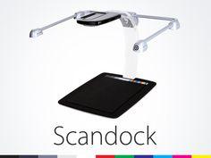Scandock : The Post-PC Scanner by Nicholas G Warnock, via Kickstarter.  http://www.kickstarter.com/projects/1908696970/scandock-the-post-pc-scanner#
