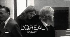 L'Oreal Norway  - Burzum gif