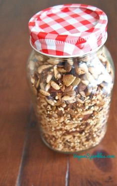 D.I.Y. Gluten-Free Toasted Muesli.  It's easier than you think.  :)