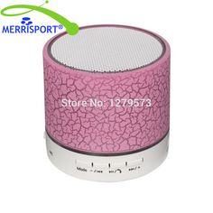 MERRISPORT Super Bass Mini Portable Bluetooth Wireless Speaker For Home Car iPhone Samsung IOS Android Smart Phone and Tablet PC //Price: $11.74 & FREE Shipping