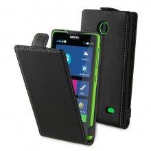 Custodia Flip Nokia X & X+ Muvit Slim Nera € 14,99