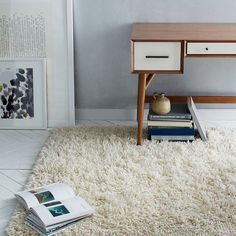 Darby Wool Shag Rug | west elm ~ obsessing over shaggy rugs