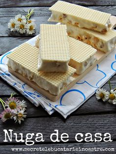 Honey Recipes, Sweets Recipes, Cake Recipes, Romanian Desserts, Romanian Food, Nougat Recipe, Sweet Cooking, Desserts To Make, Sweet Tarts