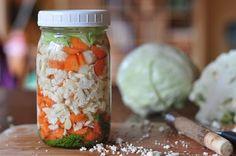 Repas nourrissants: Comment faire légumes lacto-fermentés sans lactosérum (+ Vidéo)
