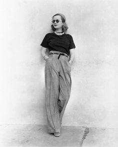 Joan Bennett, 1938––love her outfit!