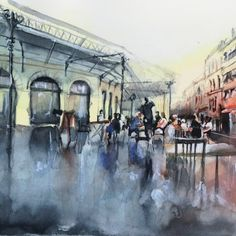 Les aquarelles de Nicolas Jolly - Journal du Design