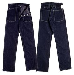 Buzz Rickson's US Army 1937 model (11 ounce denim)