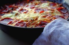 Even when we're not officially off of grains, the experience of having to forgo them has changed the way I look at preparing meals for my… Bolognese Recipe, Skillet Meals, Skillet Food, Gluten Free Grains, Low Carb Recipes, Whole Food Recipes, Gluten Free Recipes, Meat Sauce, Tomato Sauce