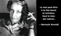 """Hannah Arendt: """"the banality of evil"""", a controversial theory . Hannah Arendt Quotes, Words For Girlfriend, Feminist Writers, Lectures, Powerful Women, Cool Words, Einstein, Quotations, Thoughts"""