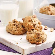 Biscuits moelleux aux figues et yogourt - Recettes - Cuisine et nutrition - Pratico Pratique