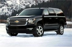 The 2016 Chevrolet Suburban is the featured model. The 2016 Chevrolet Suburban Black image is added in the car pictures category by the author on Jun Chevrolet Suburban, Chevrolet Tahoe, Ford Expedition, Black Car Service, Suv Comparison, Automobile, Suv Cars, Luxury Suv, Future Car