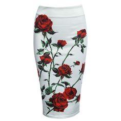 Item specifics Brand Name:WCL Gender:Women Style:Fashion Silhouette:Pencil Dresses Length:Mid-Calf Waistline:Empire Pattern Type:Print Decoration:Appliques Mate