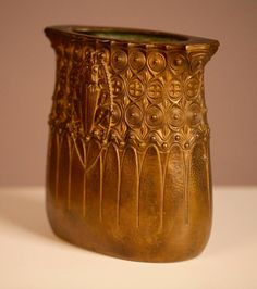 Gustav Gurschner Beetle Bronze Vase, Vienna Secession, Early 19th Century For Sale at 1stdibs